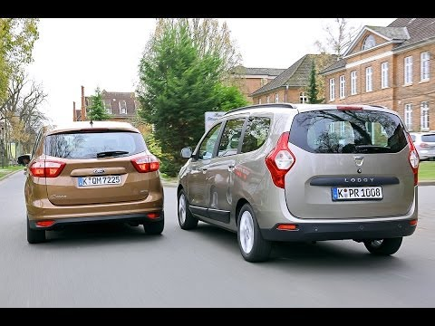 Dacia Lodgy vs. Ford C-Max