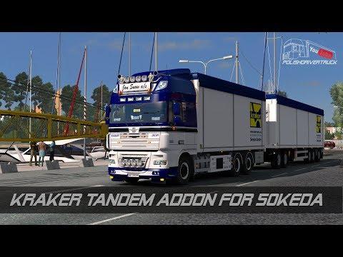 Kraker Tandem addon for RJL Scania rs&r4; v1.2