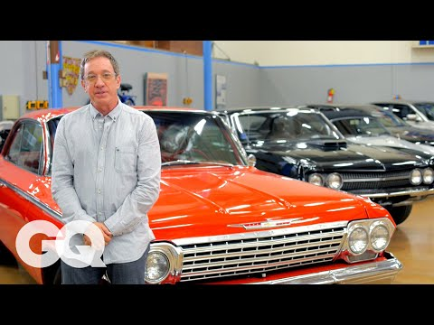 Tim Allen's Car Collection of Authentic American Made Motors -  GQ's Car Collectors - Los Angeles