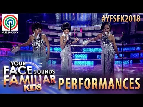 Your Face Sounds Familiar Kids 2018: TNT Boys as The Supremes | Can't Hurry Love (видео)