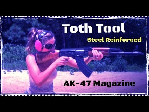 tool - http://www.tothtool.com/762x39-30rd-AK-Magazine--Steel-Reinforced-Polymer-_p_58.html Link to contribute to the crowd sourcing campaign: https://www.indiegogo.com/projects/mrgunsngear-channel-upgr...