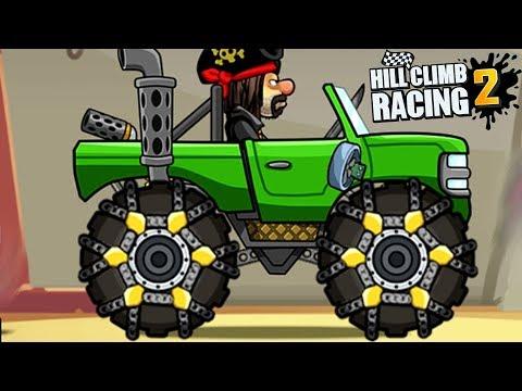 МАШИНКИ HILL CLIMB RACING 2 #21 видео детям Прохождение ИГРЫ про машины как мультик kids games car (видео)