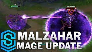 Thông tin chi tiết về bộ kỹ năng mới của Malzahar