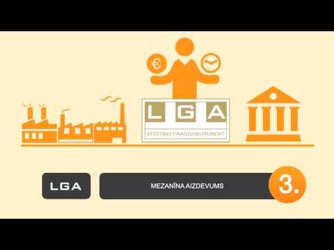 LGA attīstības finanšu instrumenti uzņēmumiem