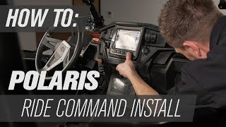 9. Polaris Ride Command Install | RZR XP 1000