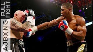 Video Full Fight | AJ Vs Paul Butlin TKO MP3, 3GP, MP4, WEBM, AVI, FLV Februari 2019