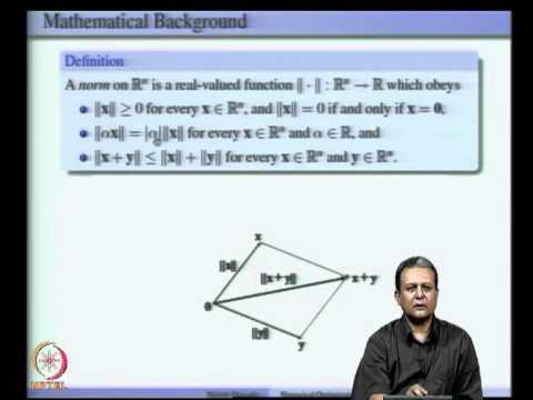 Mod-02 Lec-02 Mathematischer Hintergrund