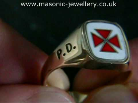 Scottish Knights Templar Ring