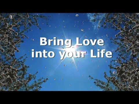 Love messages - Bring love into your life, Subliminal Messages, Law of Attraction
