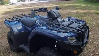 2. 2019 Honda Rancher 420 4x4 Review