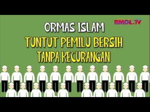 Ormas Islam Tuntut Pemilu Bersih Tanpa Kecurangan