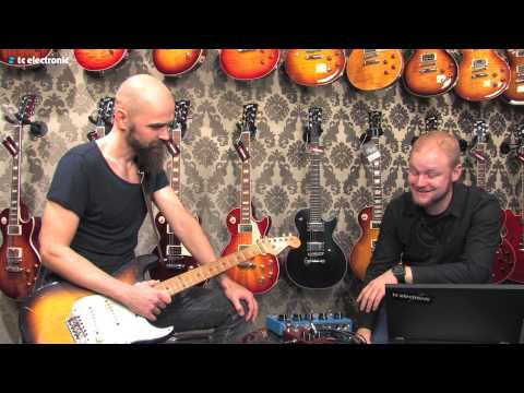 "Mika Vandborg (Electric Guitars) demoes his ""House Burning Down"" TonePrint"