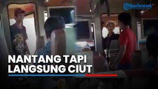 Video Awalnya Gagah Nantangin dan Ngamuk ke Penumpang di Bus, Pengamen Langsung Ciut saat Diginiin MP3, 3GP, MP4, WEBM, AVI, FLV September 2018