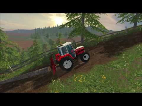 Functional forestry winch - krpan winch (beta)