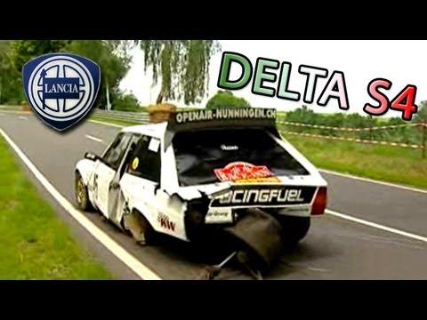 bruno ianniello lancia delta s4 crash big rally crash compilationLancia Delta S4 Toivonen Crash