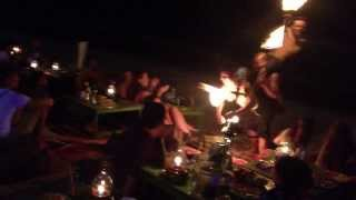 Fire Show At Koh Samet, Thailand