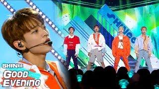 [Comeback Stage]SHINee - Good Evening  , 샤이니 - 데리러 가   Show Music core 20180602