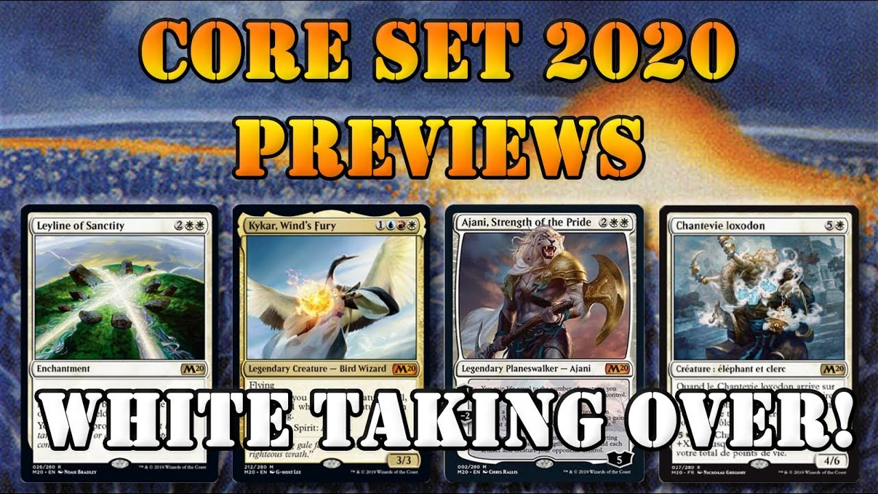 Core Set 2020 Spoilers BETTER THAN 2019