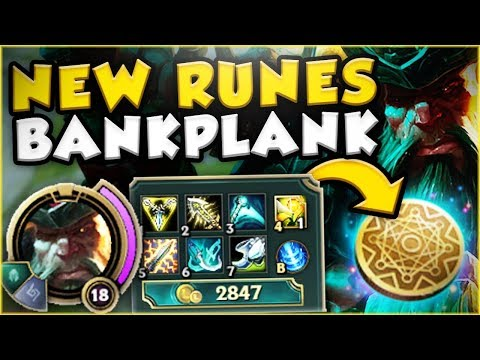新符文 賺錢型剛普朗克 Bankplank