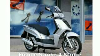 4. 2007 KYMCO People 250 - Specification