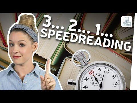 Lesetechniken: schneller lesen lernen | einfache Deutsch-Tipps