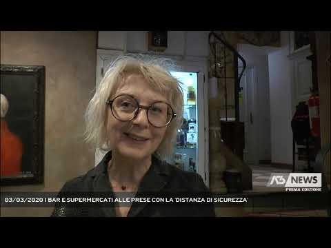 03/03/2020   BAR E SUPERMERCATI ALLE PRESE CON LA 'DISTANZA DI SICUREZZA'