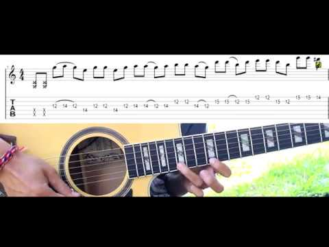 Guns N Roses – Sweet Child O Mine Acoustic Guitar Solo Lesson