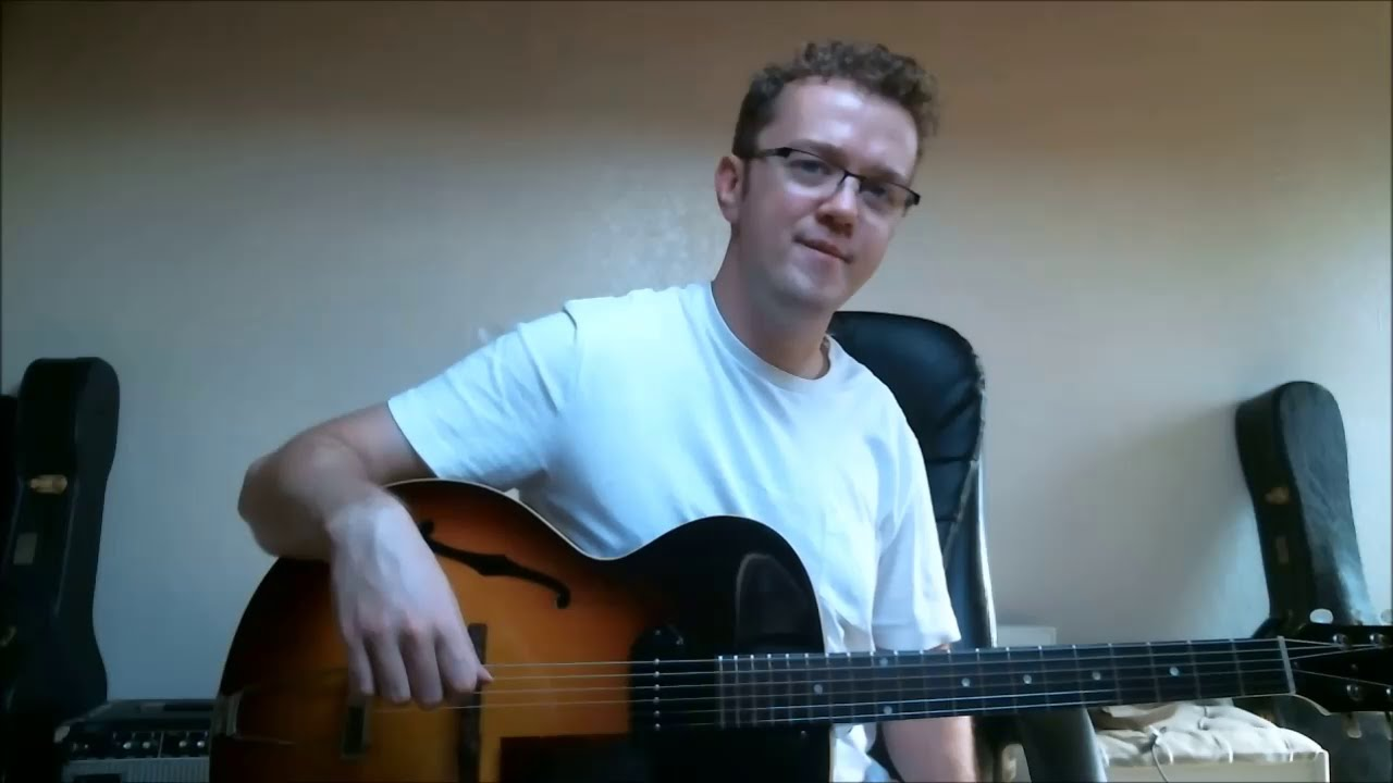 First Beginner Jazz Guitar Lesson – How to Improvise over ii V I progressions