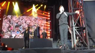 Olly Murs Grow Up . Northampton Jouly 14th 2017