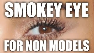 REALISTIC SMOKEY EYE FOR NON MODELS! by Wayne Goss