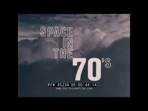 """This color film """"Space in the 70s""""..."""