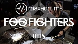 FOO FIGHTERS - RUN (Drum Cover + Transcription / Sheet Music)