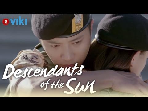 Descendants of the Sun - EP4 | Jin Goo & Kim Ji Won Hug At Airport [Eng Sub]