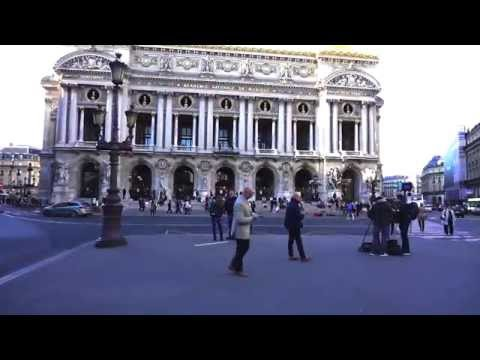 Sights Of Paris France @ Place De L'Opera To Galeries Lafayette/Sony A6000 Video