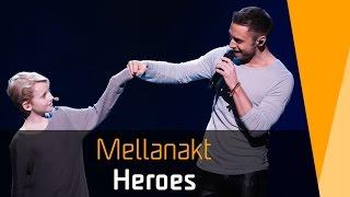 Måns Zelmerlöw – Heroes | Mellanakt | Melodifestivalen 2016