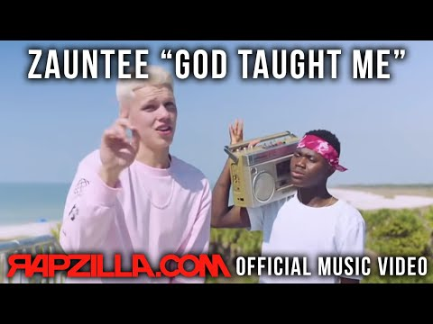 Christian Rap - Zauntee - God Taught Me Music Video