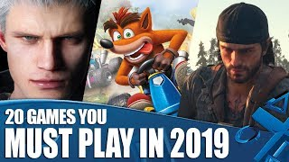 20 PS4 Games You Must Play In 2019 And Beyond!