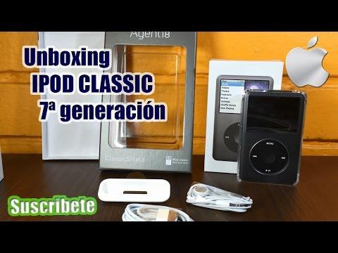 160gb - El dia de hoy les traigo un video del unbonxing del IPOD Classic de 7ª generación y las razones de porque personalmente compre este dispositivo, Make by JOBS...