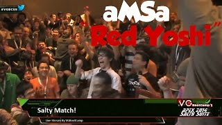 """The Red Yoshi"" – An aMSa Combo Video"