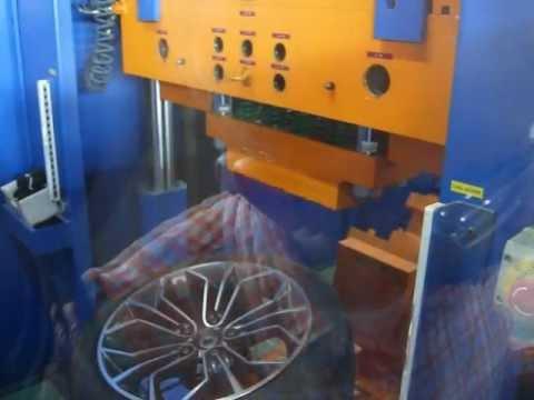Проверка прочности литых дисков WSP Italy W671 VENUS X1 на удар обода (БМВ)
