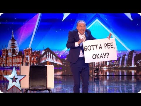 Tonight's the night for HILARIOUS variety act Ben Langley!   Auditions   BGT 2018