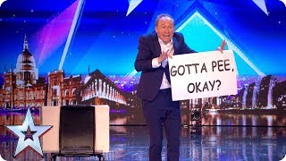 Video Tonight's the night for HILARIOUS variety act Ben Langley! | Auditions | BGT 2018 MP3, 3GP, MP4, WEBM, AVI, FLV Juli 2018
