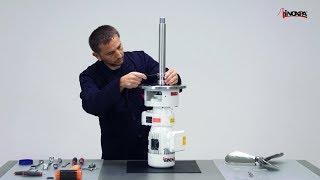 Boční míchadlo INOXPA LR - Výměna mechanické ucpávky chlazené.