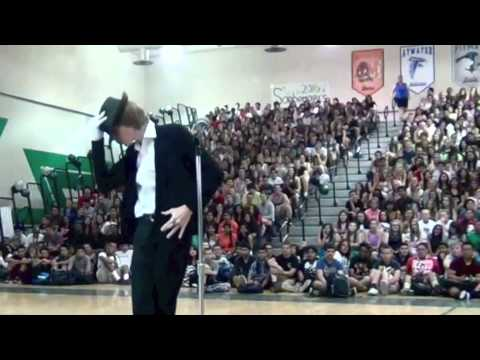 Michael Jackson Impression Wins Talent Show