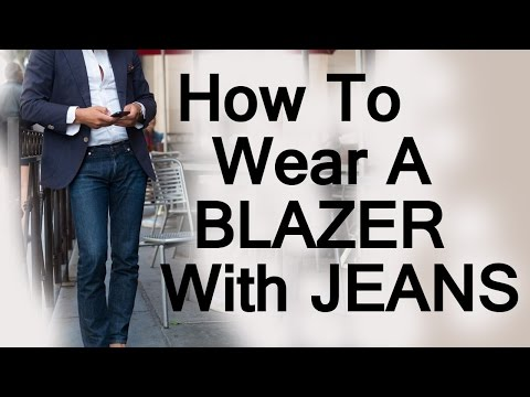 jeans - http://goo.gl/6kL0Ev - Click here to read the detailed article on wearing a blazer with jeans at Real Men Real Style http://goo.gl/vYxbiJ Click Here to claim...