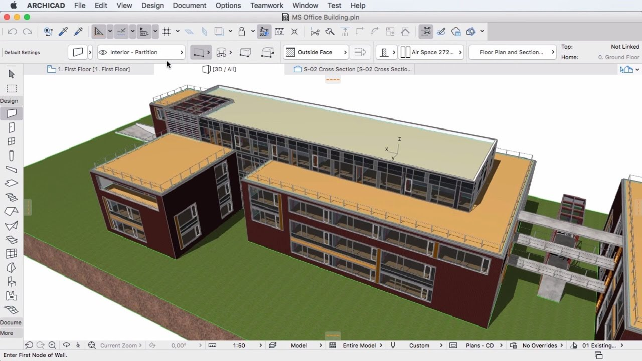 About archicad a 3d architectural bim software for 3d architecture software