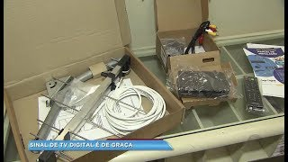 Kits para TV digital estão sendo distribuídos em Sorocaba
