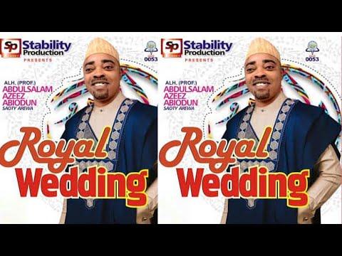 SAOTY AREWA ROYAL WEDDING LATEST RELEASE