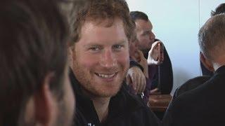 Prince Harry forgets cameras in Antarctica trek briefing