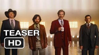 Nonton Anchorman 2  The Legend Continues Official Teaser  2013  Will Ferrell Movie Hd Film Subtitle Indonesia Streaming Movie Download